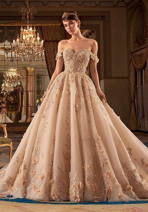 Demetrios DP438 Ball Gown Wedding Dress