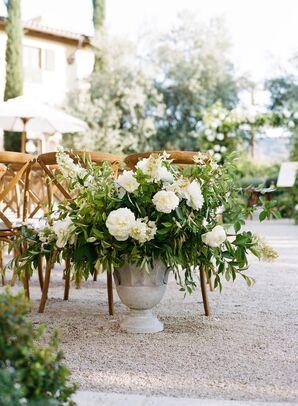 Lush Ivory Flower Arrangement