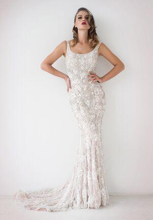 Stephen Yearick KSY163 Sheath Wedding Dress