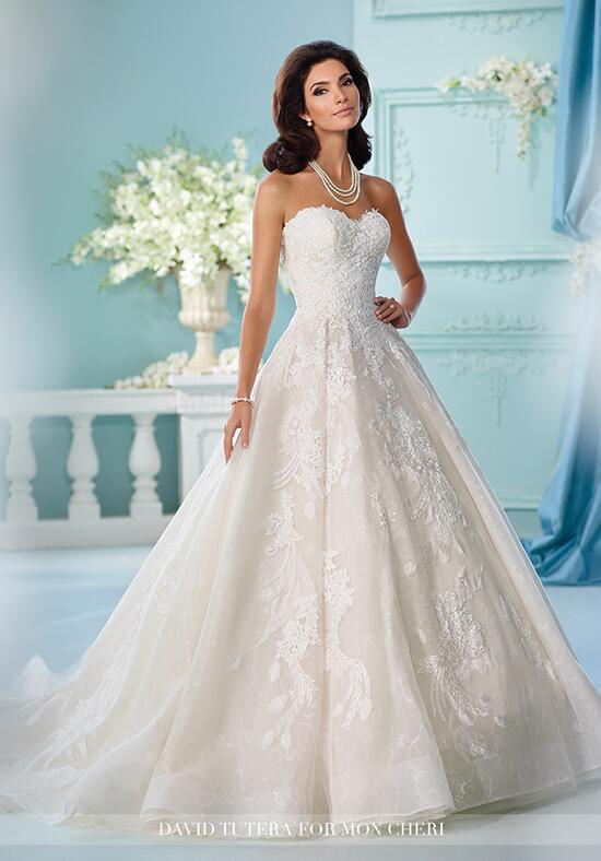 David Tutera for Mon Cheri 216255 Serenity Wedding Dress photo