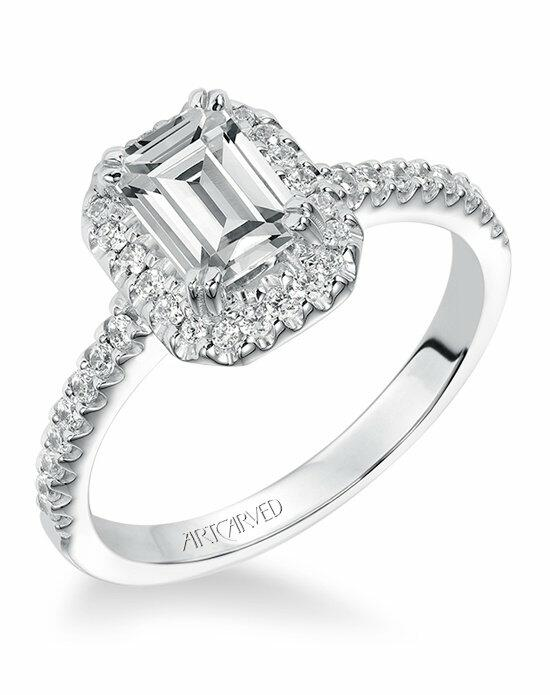 ArtCarved 31-V291EEW Engagement Ring photo