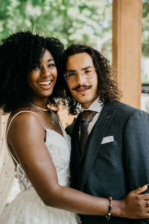 Couple Portraits at Turner Hall in Milwaukee, Wisconsin