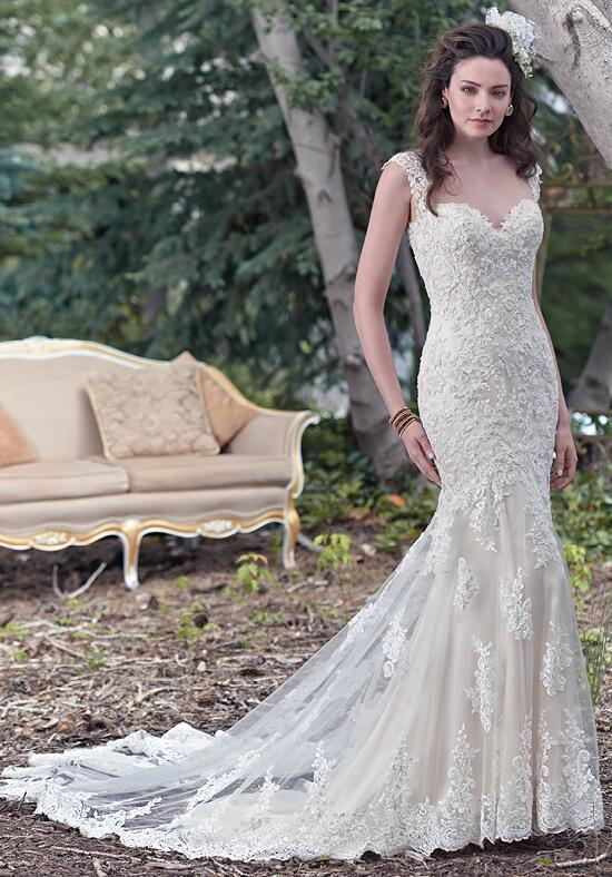 Maggie Sottero Collins Wedding Dress photo