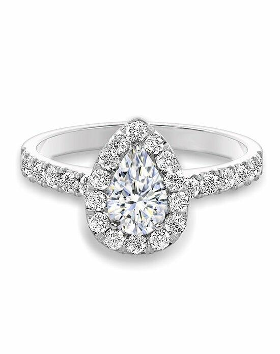 Forevermark Diamonds CENTER OF MY UNIVERSE™ HALO RING/S#1430A Engagement Ring photo