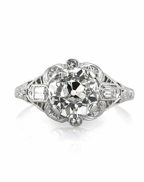 Mark Broumand 2.70ct Antique European Round Cut Diamond Engagement Ring Engagement Ring photo
