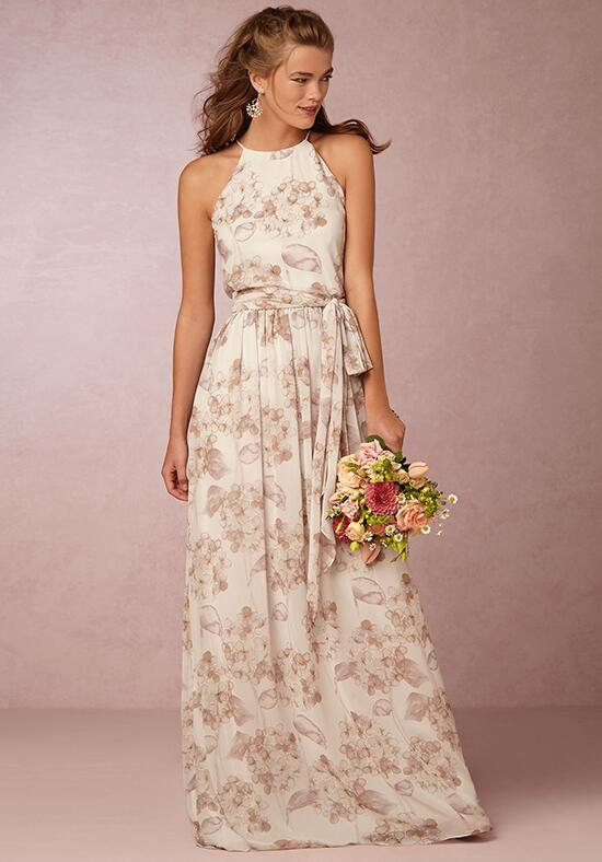 BHLDN (Bridesmaids) Alana-Flower Pink Bridesmaid Dress photo