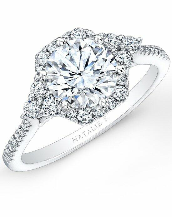 Natalie K Belle Collection - NK26324-W Engagement Ring photo