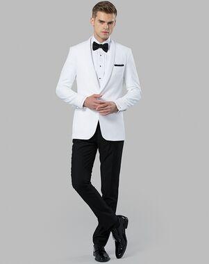 Menguin White Dinner Jacket White Tuxedo