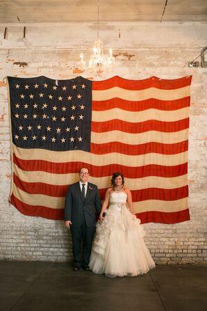 Patriotic Couple's Shot
