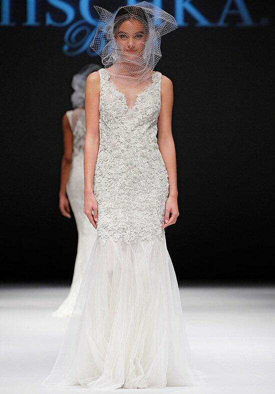 Badgley Mischka Bride Garland Wedding Dress photo
