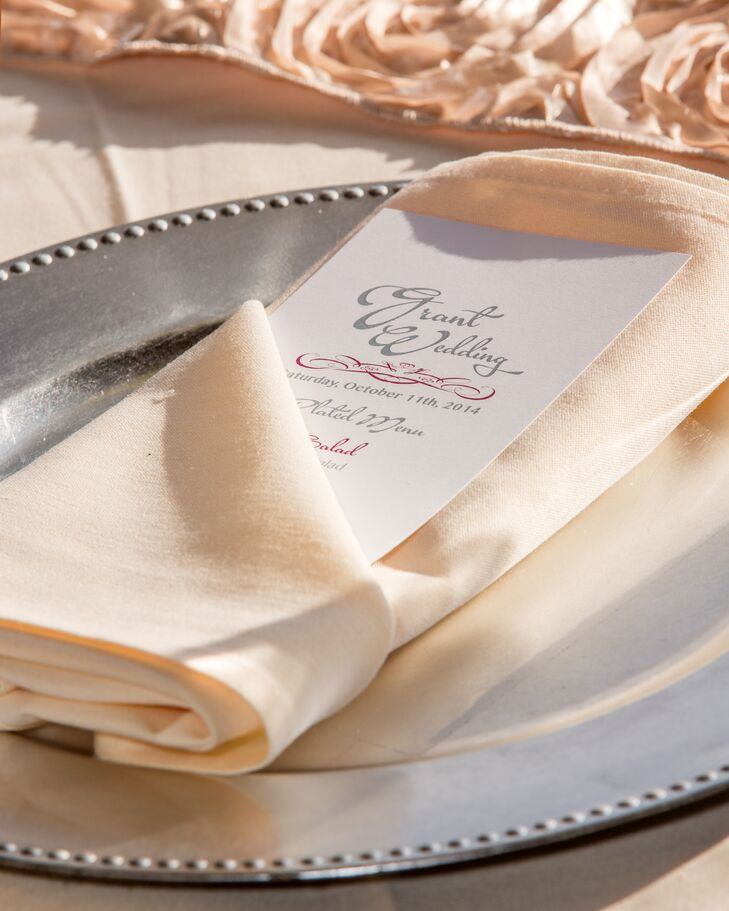 Refined Silver and Cream Place Setting