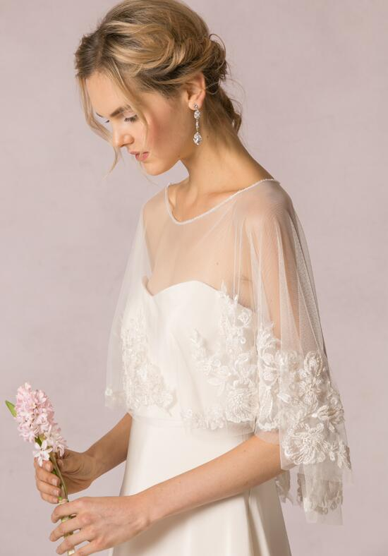 Jenny Yoo Collection Ophelia Capelet Wedding Dress photo