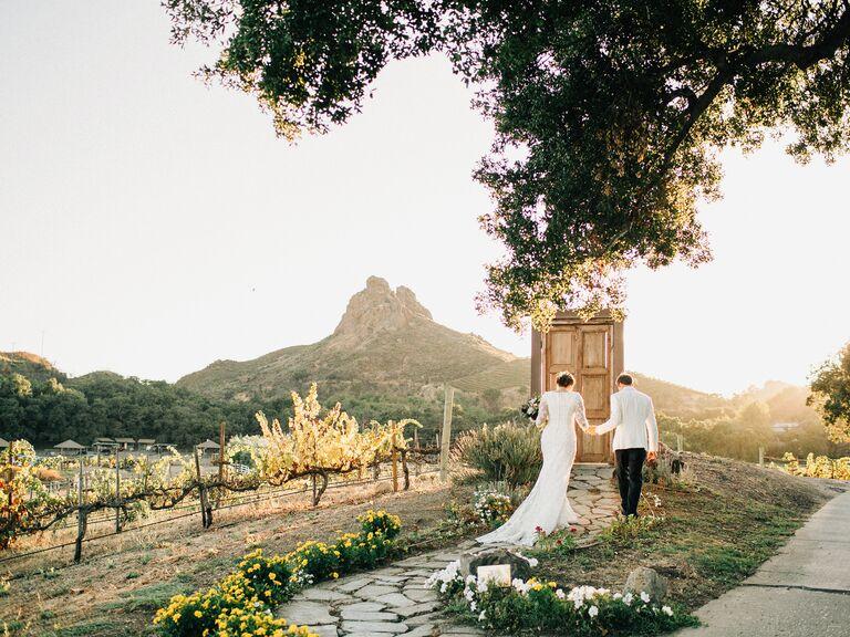Outdoor Wedding Venues Saddlerock Ranch