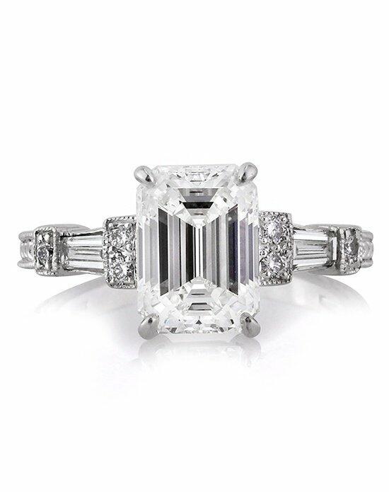 Mark Broumand 2.61ct Emerald Cut Diamond Engagement Ring ...