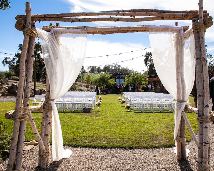 Ceremonial Space at Arista Winery
