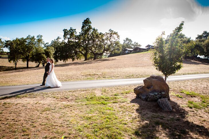 Couple Walking With Natural Backdrop