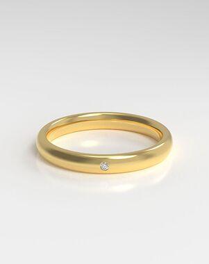 HOLDEN The Flush White Gold, Rose Gold, Platinum Wedding Ring