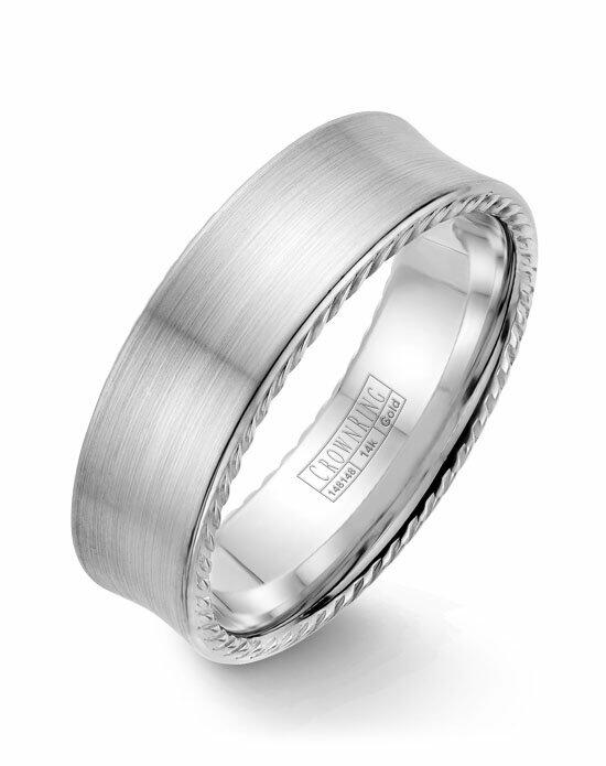 CrownRing WB-008R7W-M10 Wedding Ring photo