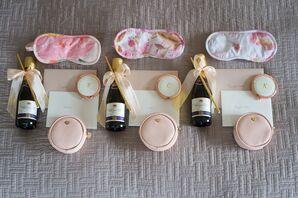 Blush Bridesmaid Gifts