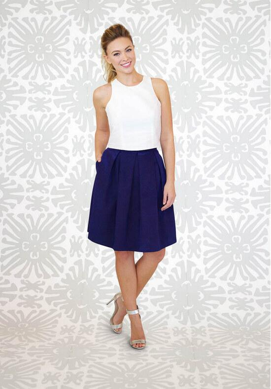 LulaKate Dahlia Skirt Bridesmaid Dress photo