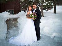 outdoor wedding in Bismark, North Dakota