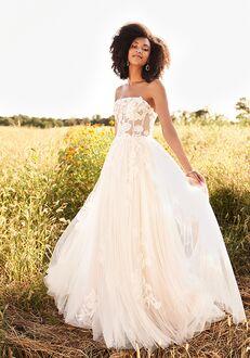 Lillian West 66194 A-Line Wedding Dress