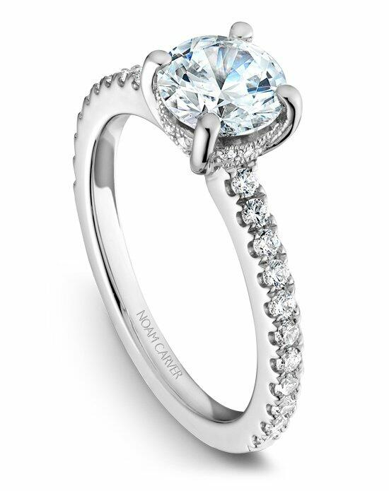 Noam Carver B087-01WS-100A Engagement Ring photo