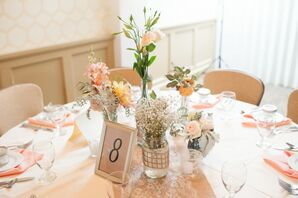 Simple, Framed Table Number
