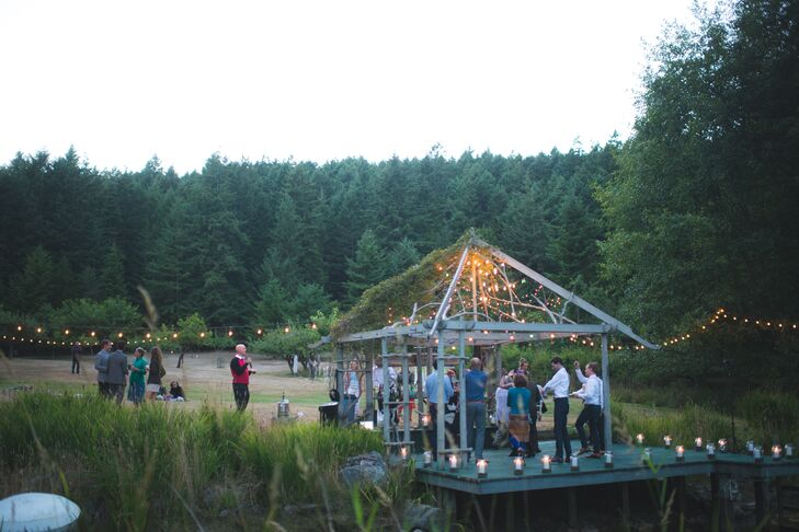 Davis Bay Wedding Reception