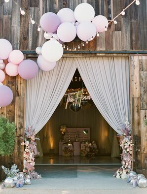 Wedding Balloon Decor at Greengate Ranch and Vineyard in San Luis Obispo, California