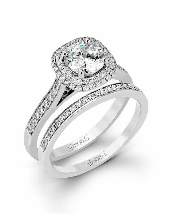 Simon G. Jewelry MR2395 Engagement Ring photo