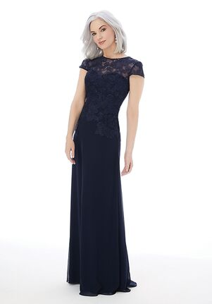 MGNY 72227 Blue,Silver Mother Of The Bride Dress