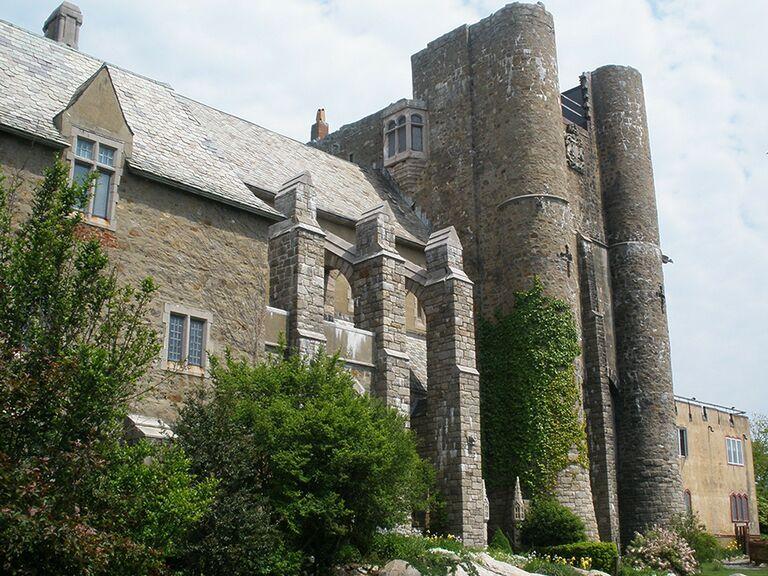 Castle wedding venue in Gloucester, Massachusetts