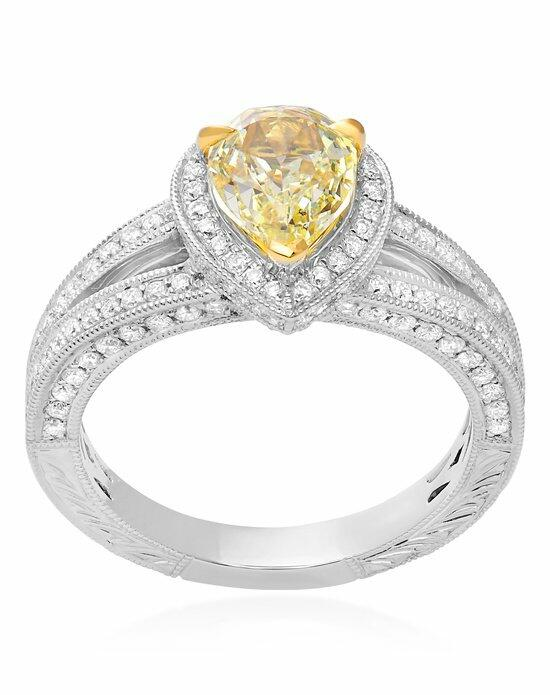 Roman + Jules KR5538WY-FY-18K Engagement Ring photo