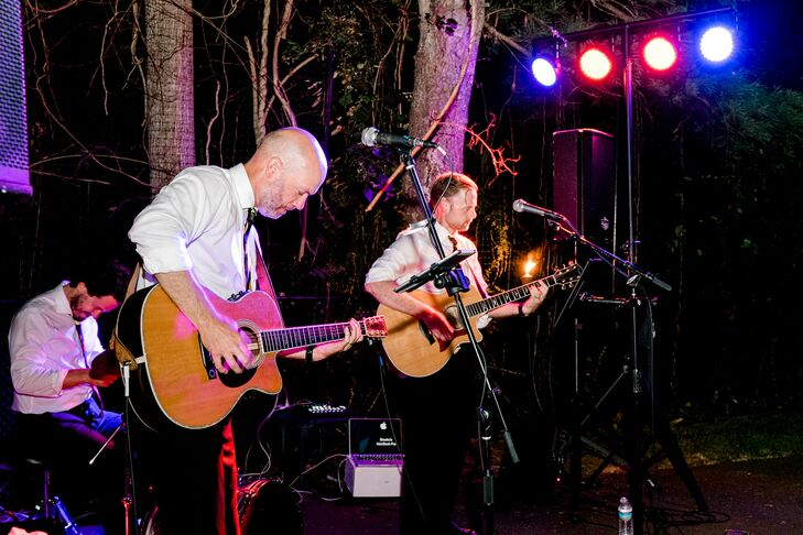 Live Guitar Players at Backyard Minimony in New York