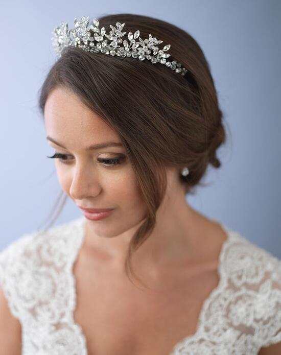 USABride Delicate Crystal Crown TI-3279 Wedding Tiaras photo