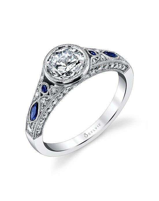 Sylvie Collection S4118 Engagement Ring photo