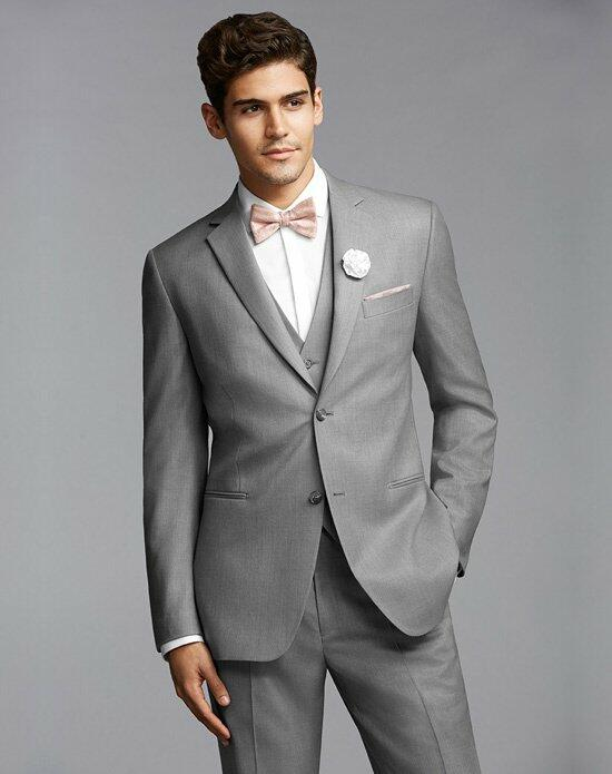 The Men's Wearhouse® Super 120s Gray Suit Wedding Tuxedos + Suit photo
