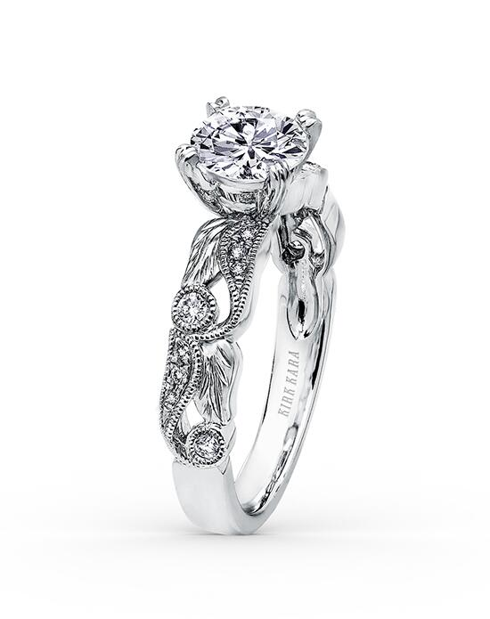Kirk Kara Dahlia Collection K177R Engagement Ring photo