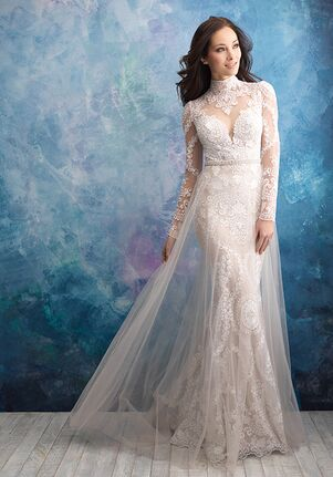 Allure Bridals 9567 Sheath Wedding Dress