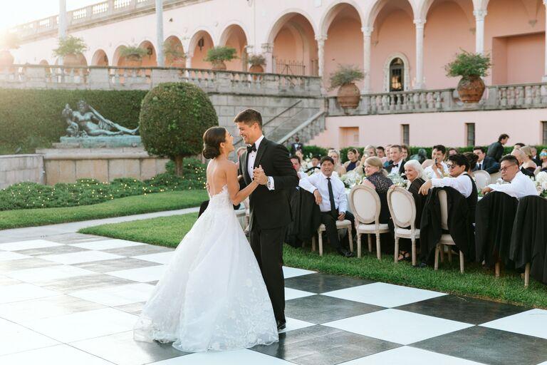 caila quinn nick burrello first dance wedding
