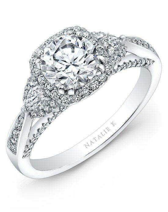 Natalie K Belle Collection - NK28378-18W Engagement Ring photo