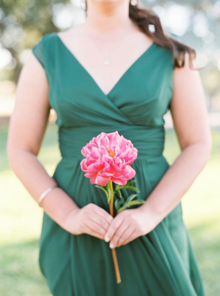 Single Pink Peony Bouquet