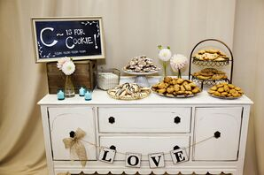 Reception Sweets Table