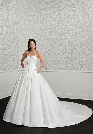 Adrianna Papell Platinum 31123 Ball Gown Wedding Dress