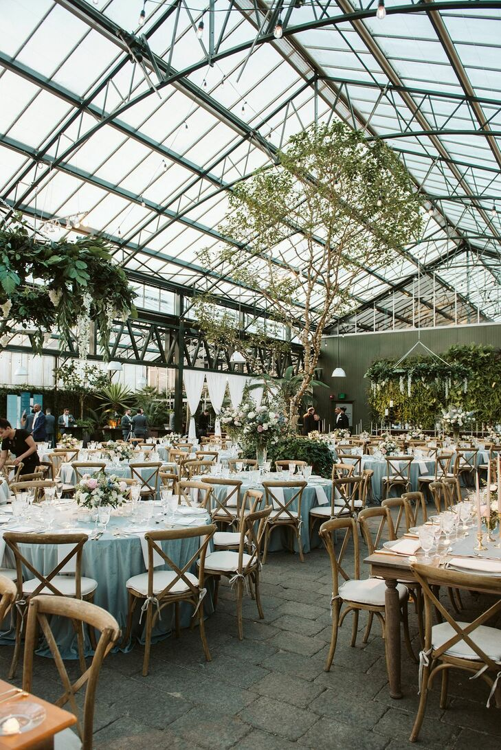 Classic Reception at Planterra Conservatory in West Bloomfield Township, Michigan