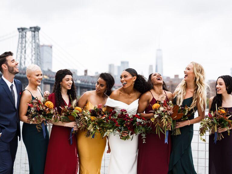 Fall wedding ideas jewel tones