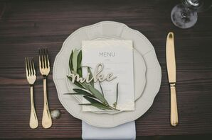 Wood-Carved Place Cards