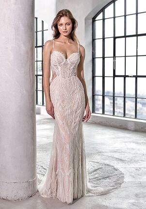 Badgley Mischka Bride Fabiana Sheath Wedding Dress