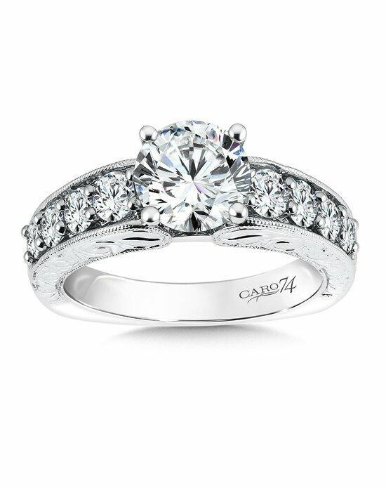 Caro 74 CR518W Engagement Ring photo